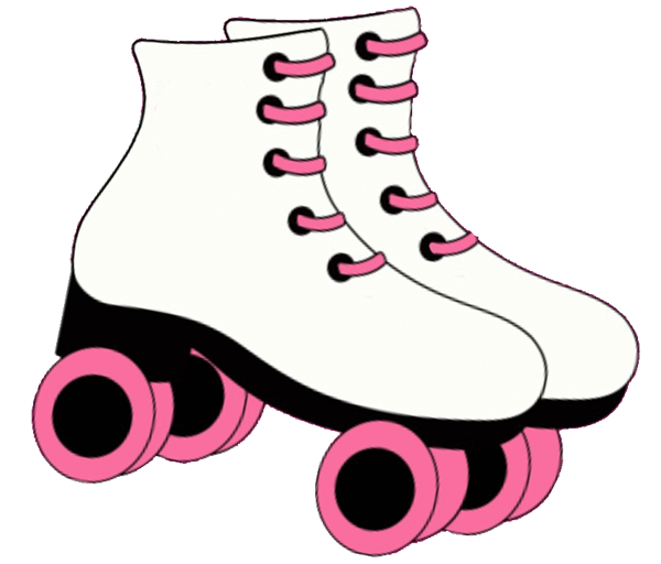 To skate clipart graphic library download Roller Skate Clip Art cakepins.com | recipes | Roller skating party ... graphic library download