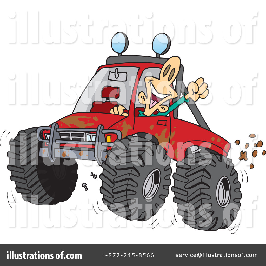 4 wheeling clipart banner royalty free Four Wheeling Clipart #433303 - Illustration by toonaday banner royalty free