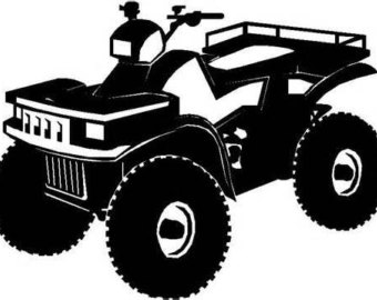 4 wheeling clipart clipart black and white stock Four Wheeler Clipart Group with 73+ items clipart black and white stock