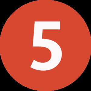 5 5 clipart
