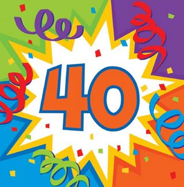 Free 40 Year Birthday Cliparts, Download Free Clip Art, Free Clip ... clip library stock