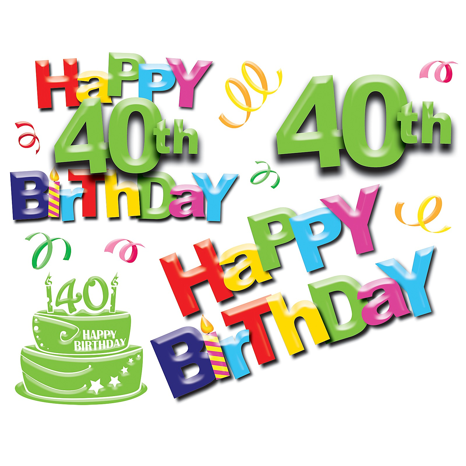 Free 40 Year Birthday Cliparts, Download Free Clip Art, Free Clip ... transparent download