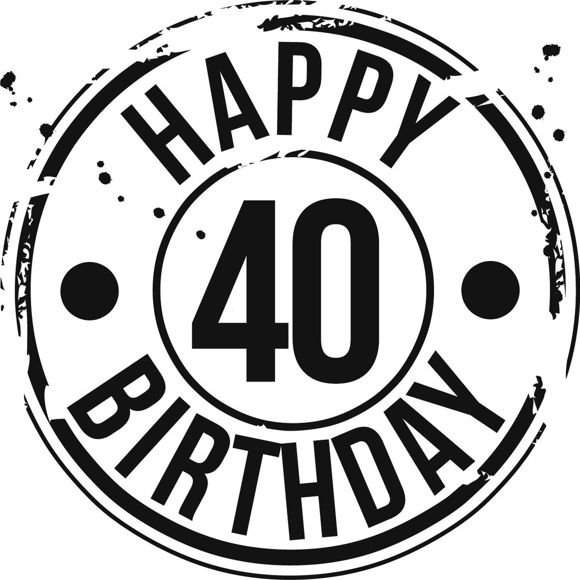 Free 40 Year Birthday Cliparts, Download Free Clip Art, Free Clip ... vector royalty free download