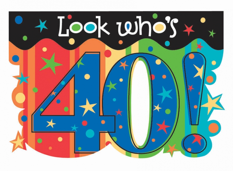 Free 40 Year Birthday Cliparts, Download Free Clip Art, Free Clip ... picture freeuse stock