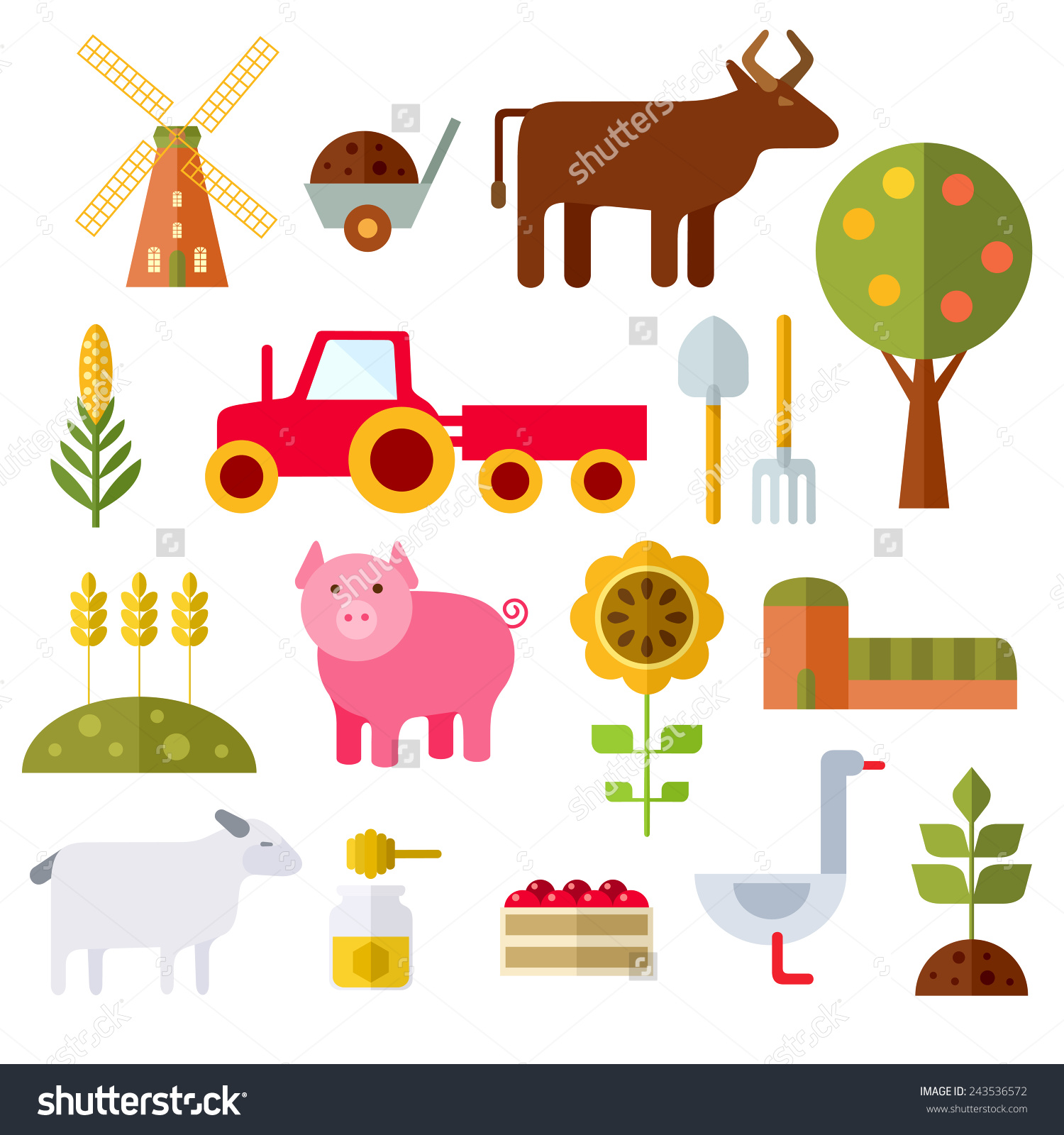 41 clipart png black and white Farm Tools And Equipment Clip Art (41 ) - Free Clipart png black and white