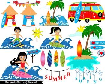 41 clipart jpg transparent stock 41 PNG Files- Summer Surfing ClipArt- Digital Clip Art - 300 dpi 115 jpg transparent stock