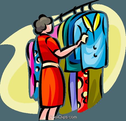 41 clipart clip freeuse Clothes shopping clip art (41 ) - Clipartable.com clip freeuse