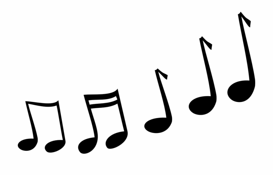 Music Note Clip Art Transparent Background - Melody Clipart Free PNG ... banner library