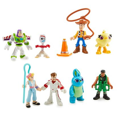 4-5 nutrition toys clipart graphic black and white Imaginext® Toy Story Deluxe Figure Pack graphic black and white