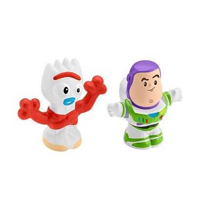 4-5 nutrition toys clipart clip art freeuse stock Little People® Disney® Toy Story Buzz Lightyear & Forky Figure Pack clip art freeuse stock