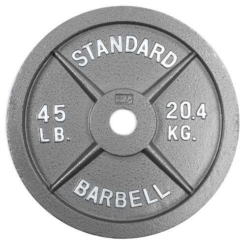45 pound plate clipart