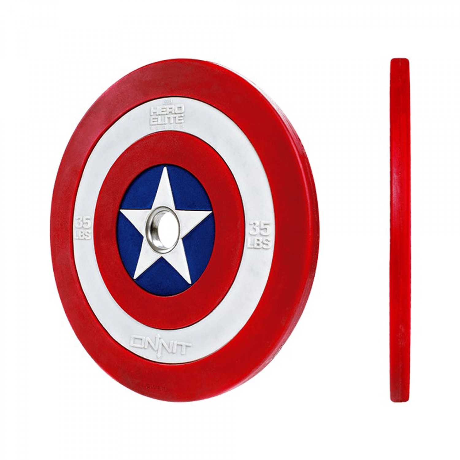 45 pound plate clipart svg library Captain America Shield Barbell Plates svg library