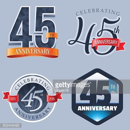 45 years clipart image free download Anniversary Logo 45 Years premium clipart - ClipartLogo.com image free download