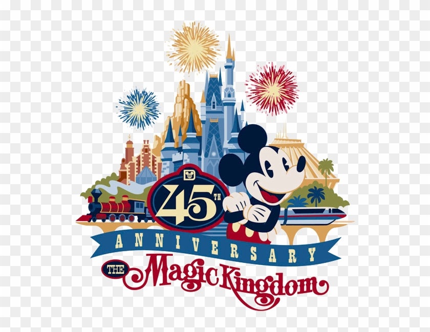 45th anniversary clipart jpg transparent library Clip Arts Related To - Magic Kingdom 45th Anniversary, HD Png ... jpg transparent library