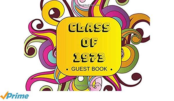 45th class reunion 1973 clipart clip art Class of 1973 Guest Book: Reunion Registration Keepsake - 45th ... clip art