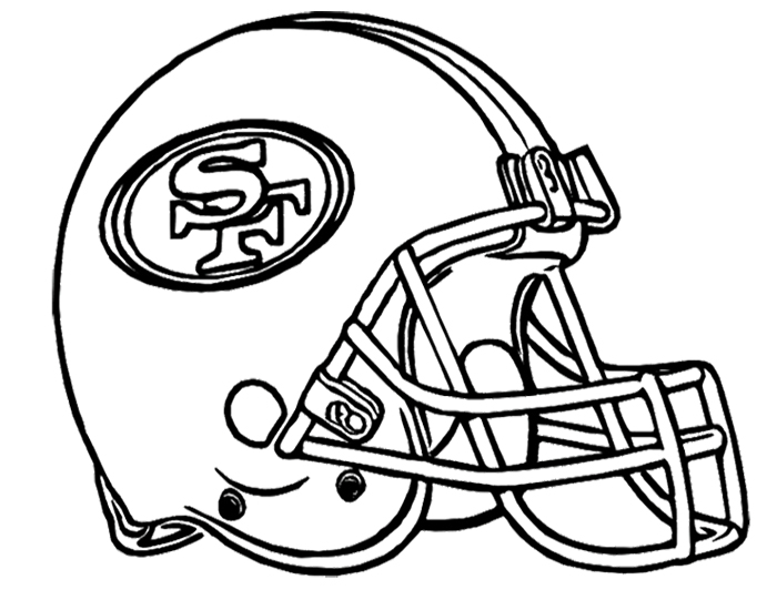 49ers black and white clipart jpg royalty free Coloring Pages 49ers   Free download best Coloring Pages 49ers on ... jpg royalty free