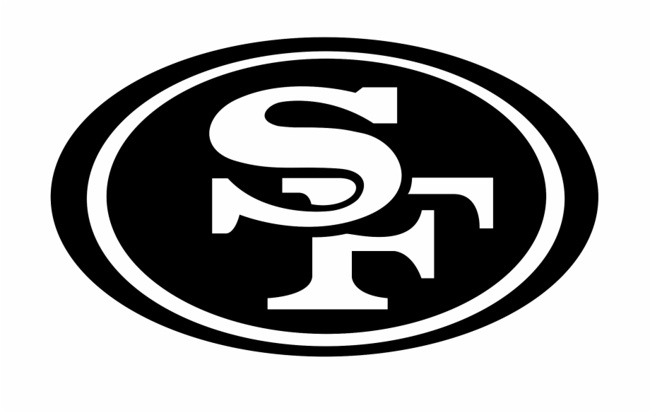 49ers black and white clipart banner royalty free stock Steelers Vector Nfl - San Francisco 49ers Free PNG Images & Clipart ... banner royalty free stock