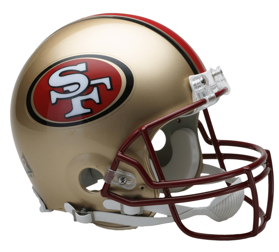 49ers football clipart clip art free library San Francisco 49ers Helmet transparent PNG - StickPNG clip art free library