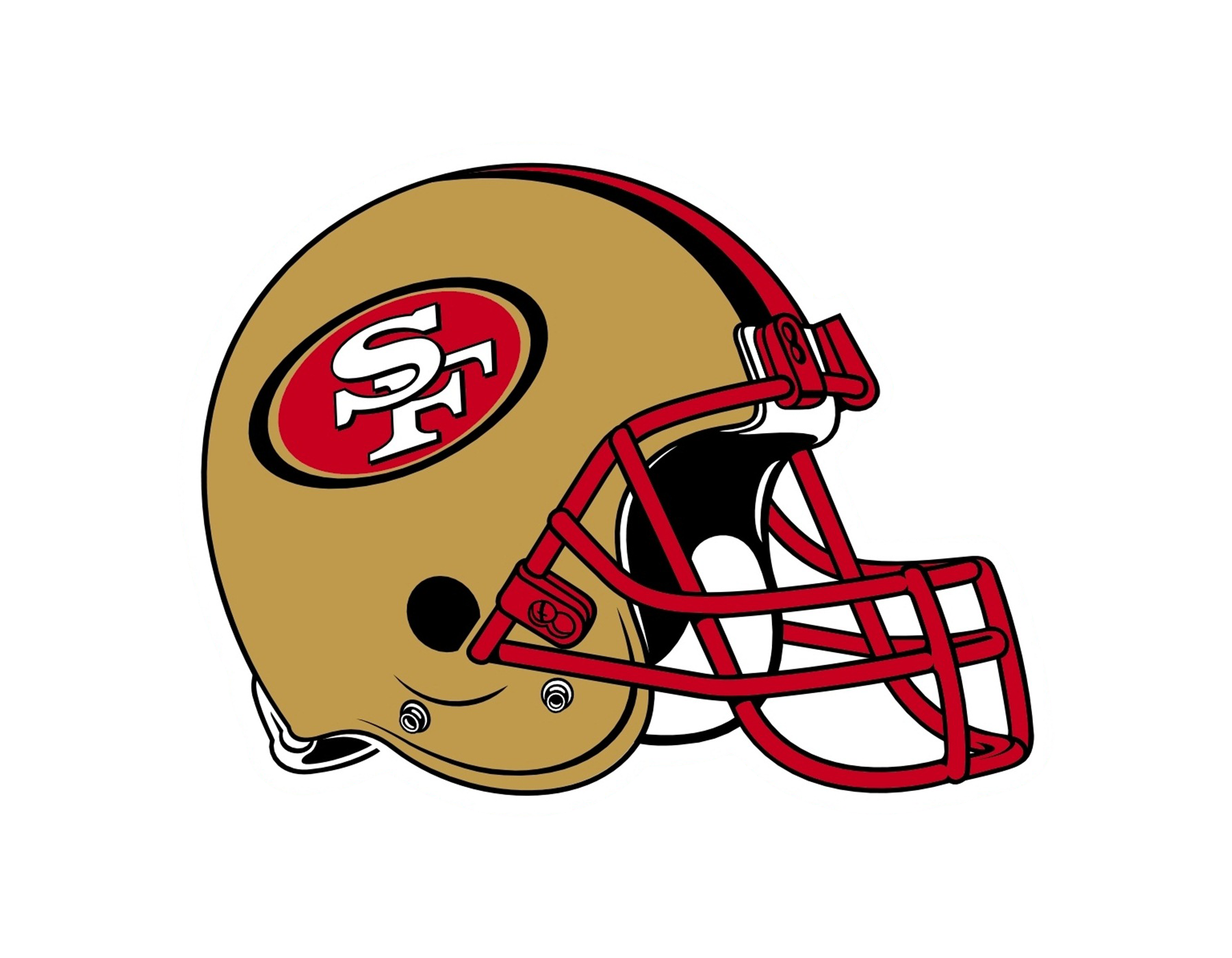 49ers football clipart jpg black and white stock 49ers Logo Drawing at GetDrawings.com | Free for personal use 49ers ... jpg black and white stock