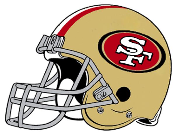 49ers helmet clipart