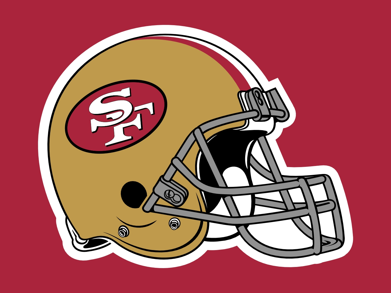 49ers helmet clipart clip art free library Free 49Ers Cliparts, Download Free Clip Art, Free Clip Art on ... clip art free library