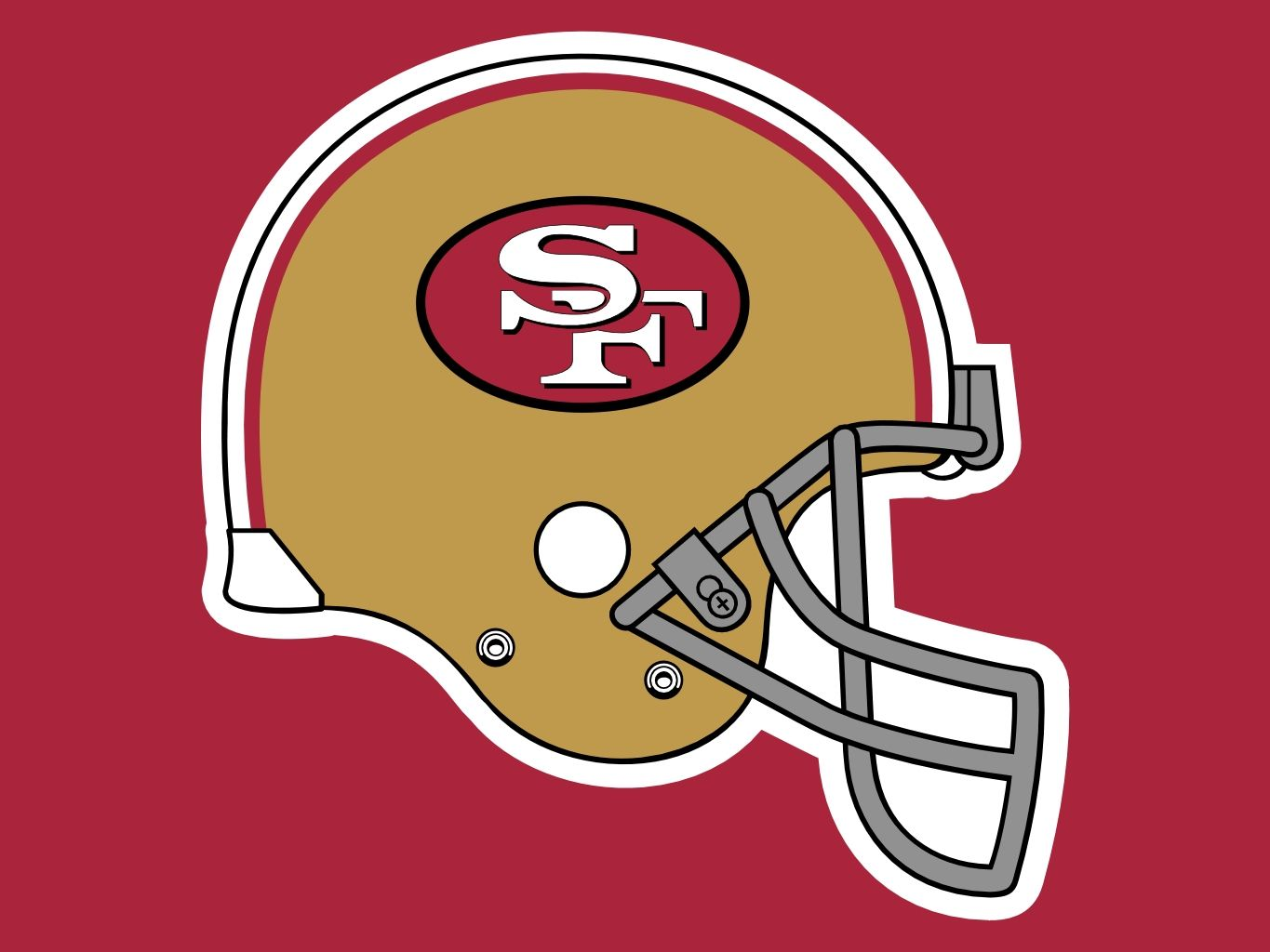 49ers helmet clipart clip black and white download Pin by Roxanne Panighetti on FOOTBALL   Football helmets, Nfl logo ... clip black and white download