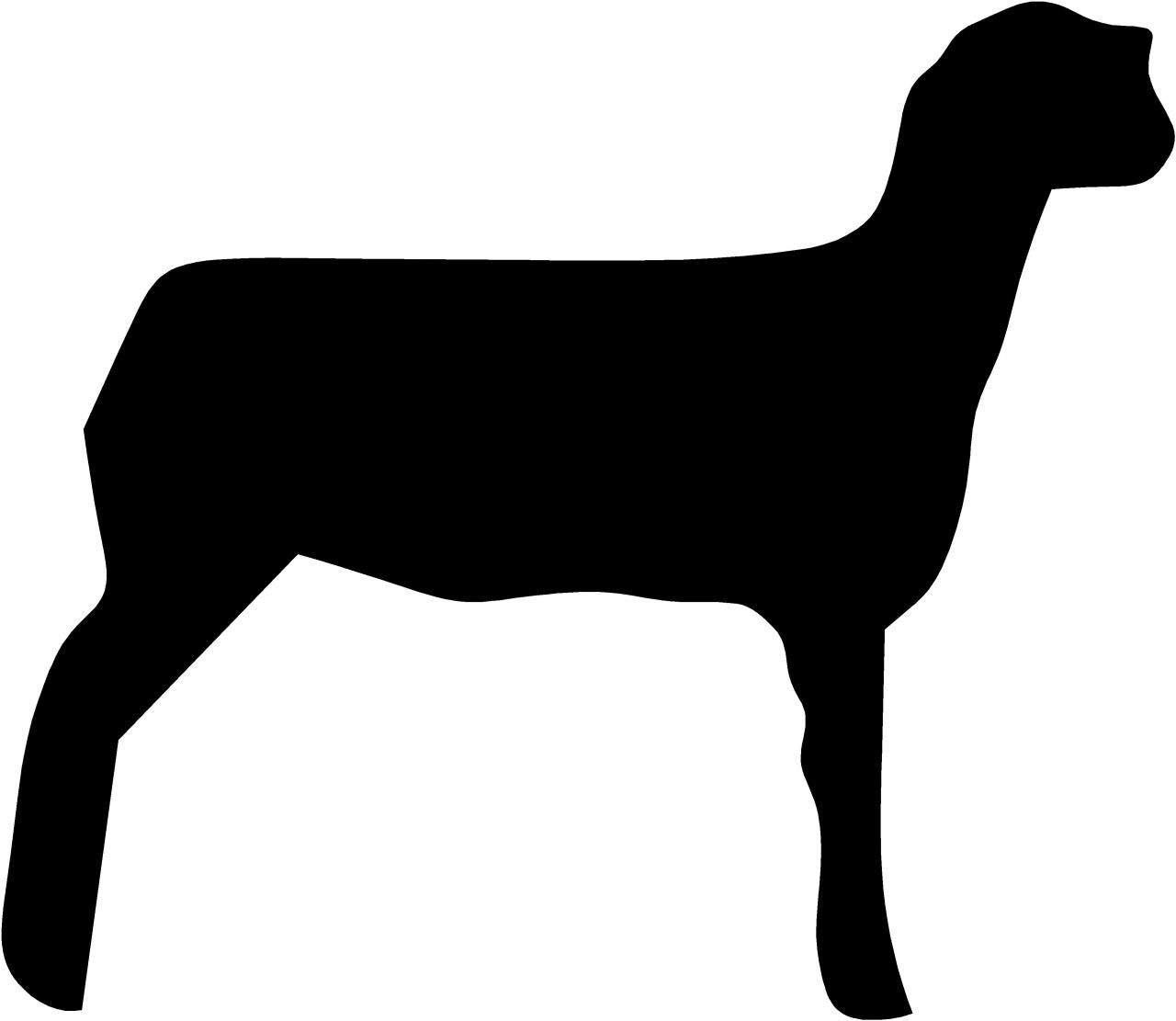4h lamb clipart freeuse library Go Back Images For Show Sheep Silhouette   cricut image ideas ... freeuse library