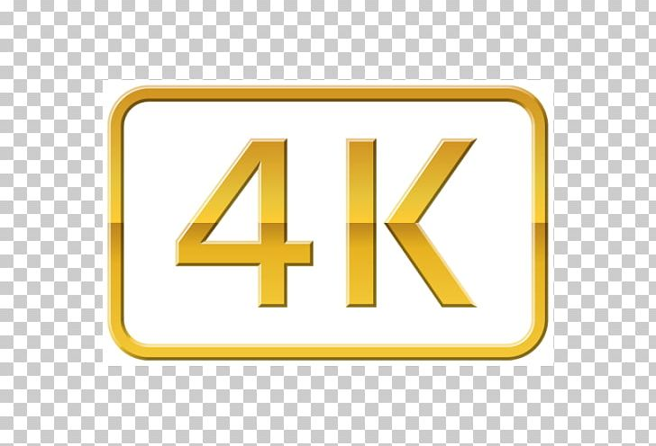 4k logo clipart vector transparent 4K Resolution Display Resolution Ultra-high-definition Television ... vector transparent