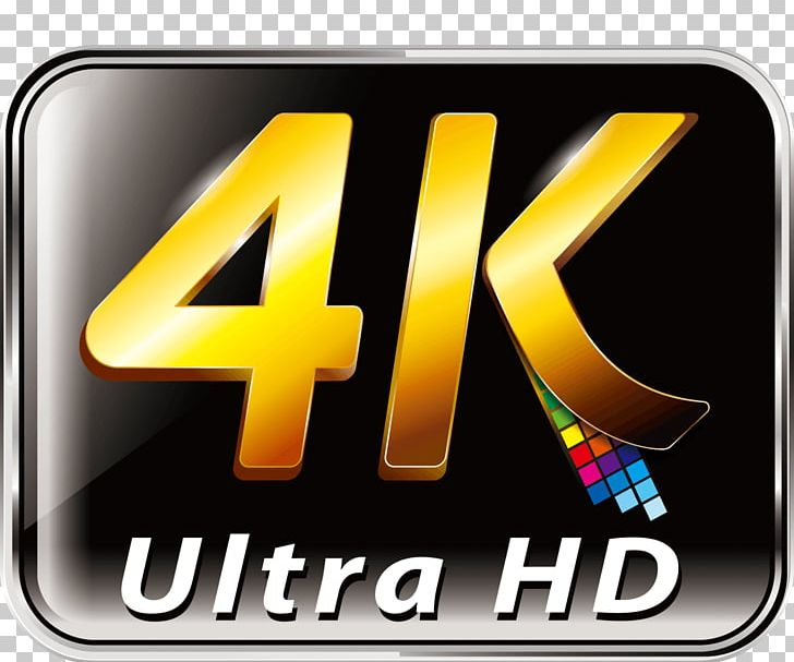 4k logo clipart vector free library Logo 4K Resolution Ultra-high-definition Television Computer ... vector free library