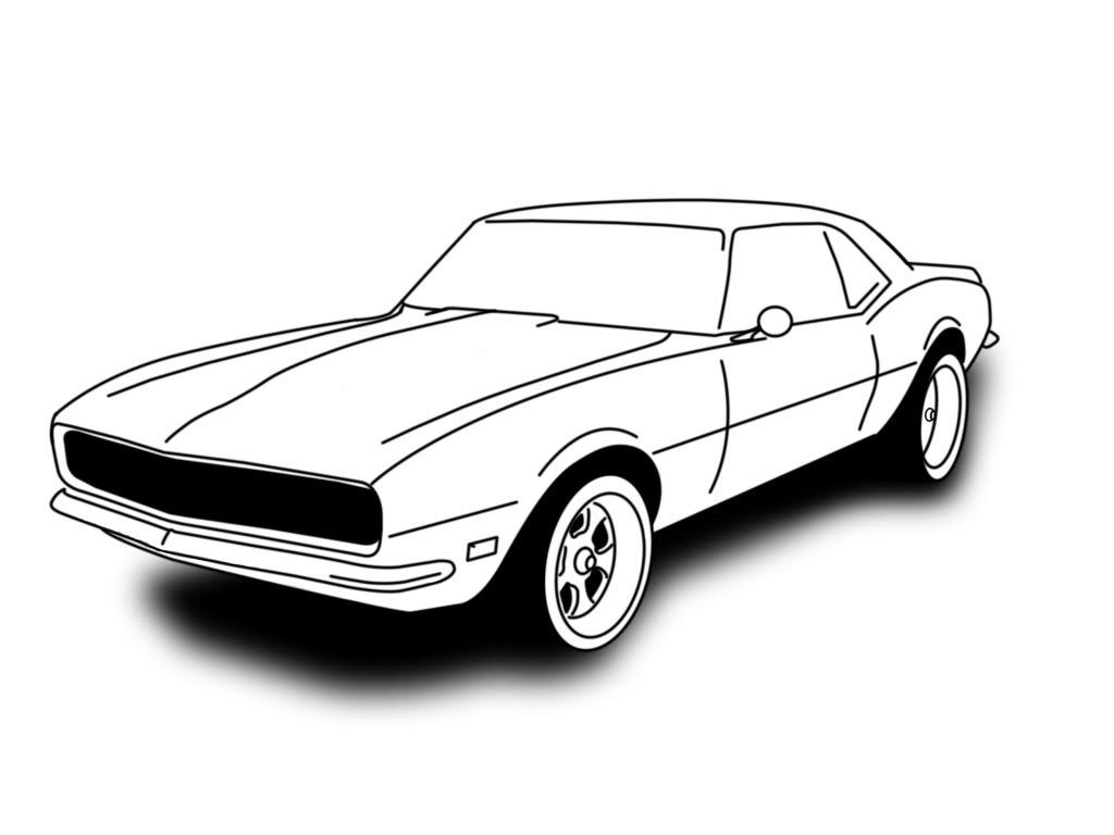 4th gen camaro clipart jpg library download 14 69 Camaro Vector Images - 1969 Camaro Clip Art Illustration, 69 ... jpg library download