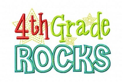 4th grade rocks clipart banner Welcome to Fourth Grade with Miss Reis – Miss Jenny Reis ... banner