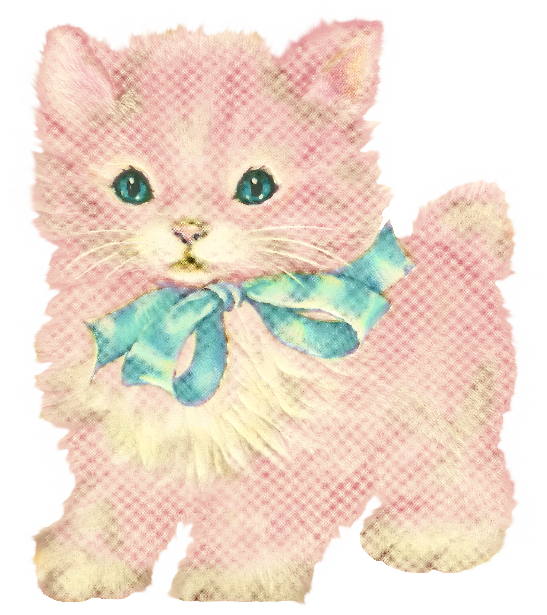 4th of july cat clipart graphic library stock Kitschy Kitty Cat Clip Art with Little Dear Prints - Free Pretty ... graphic library stock