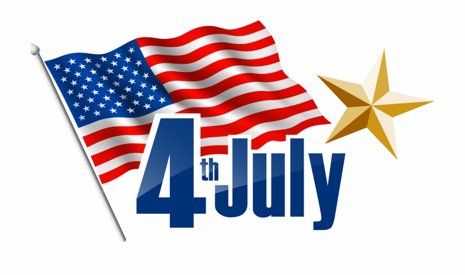 Cute fourth of july clipart without backgrounds banner free download Beach Clipart 4th July - Happy 4th Of July 2018 Free PNG Images ... banner free download