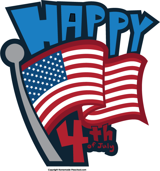 Clipart for fourth of july clipart black and white library Free July 4 Cliparts, Download Free Clip Art, Free Clip Art on ... clipart black and white library