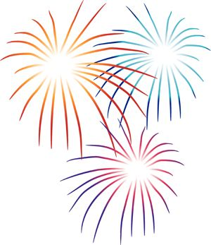 Firework images clipart