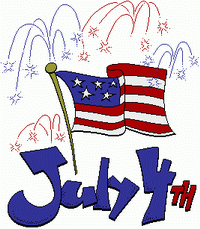 Free clipart fourth of july quotes graphic library Free 4th of July Clipart - Independence Day Graphics | 4 OF JULY ... graphic library