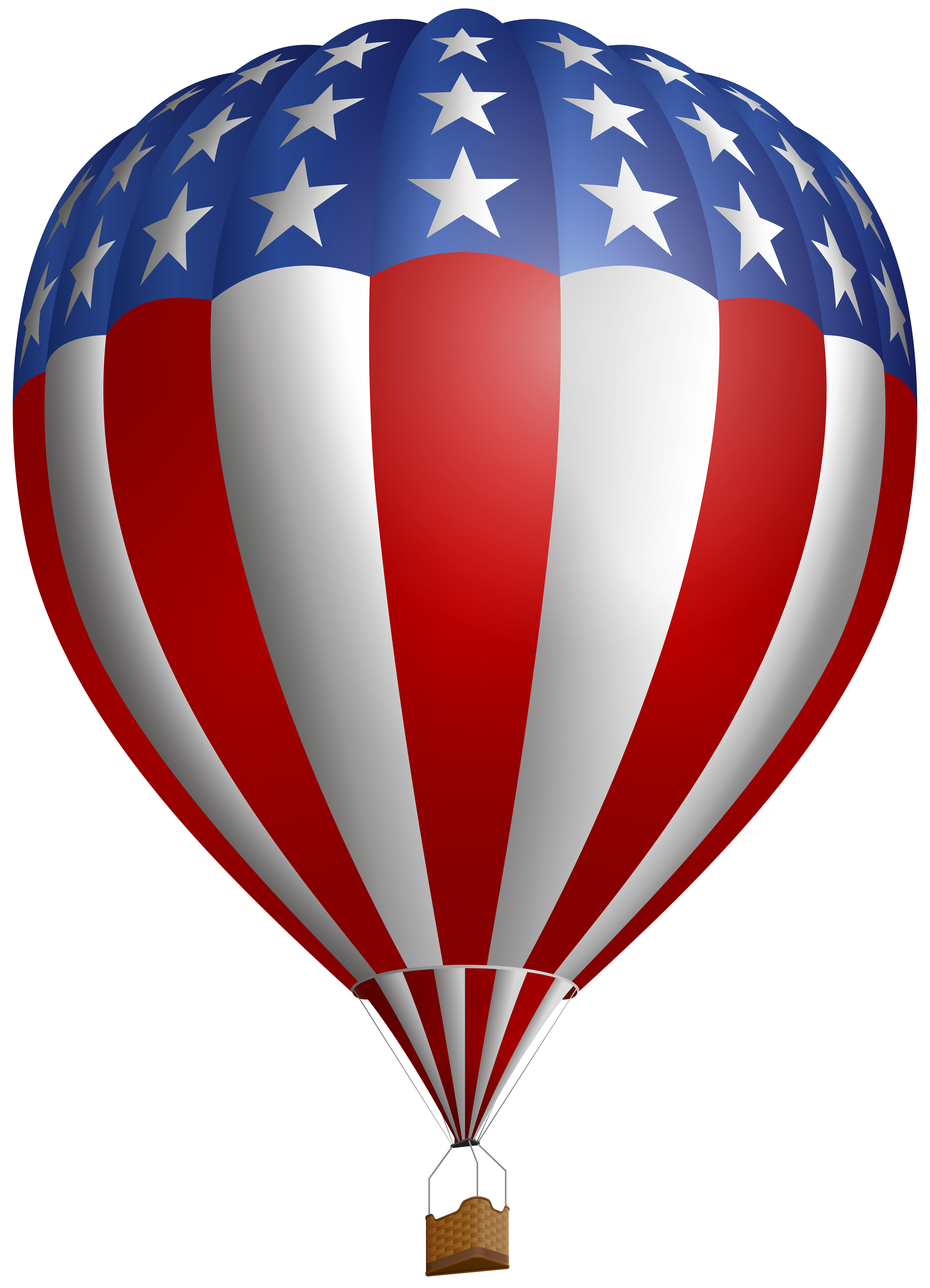 4th of july clipart hot air balloon png transparent stock USA Air Flag Baloon PNG Clip Art Image | Gallery Yopriceville ... png transparent stock