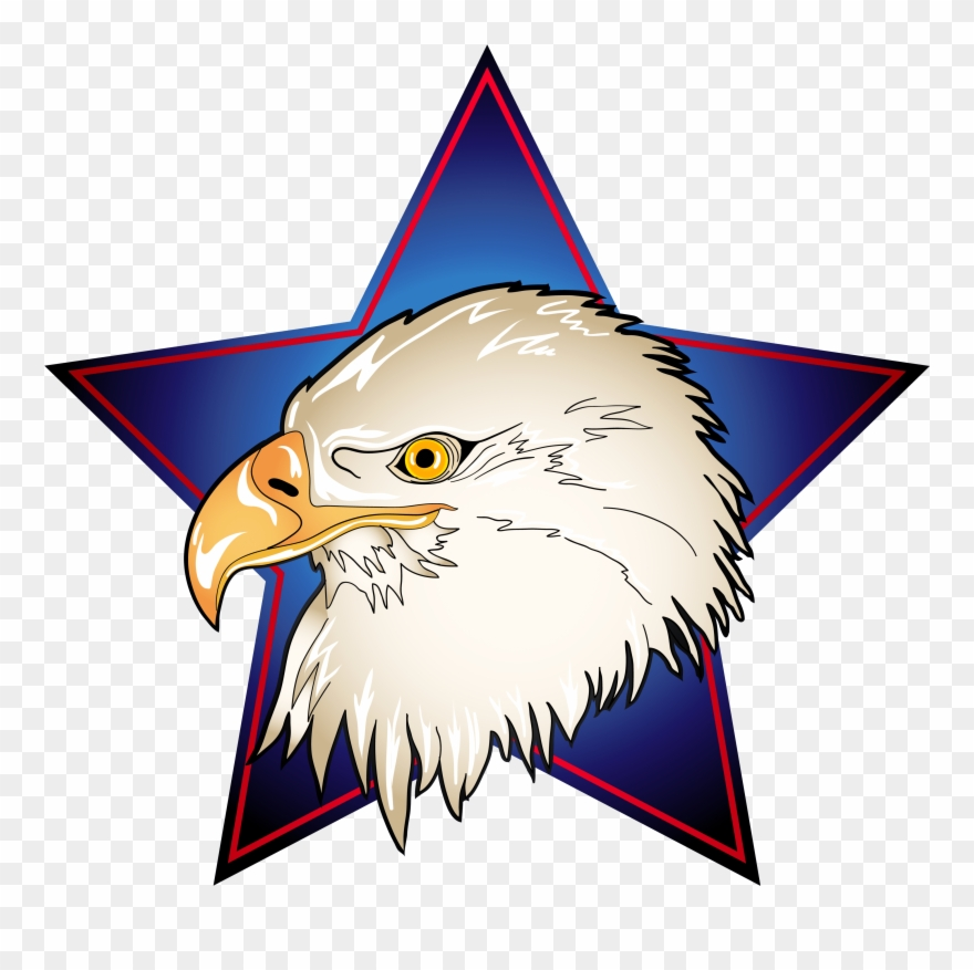 4th of july eagle clipart clip transparent stock 4th Of July Eagle Clipart - Png Download (#465348) - PinClipart clip transparent stock