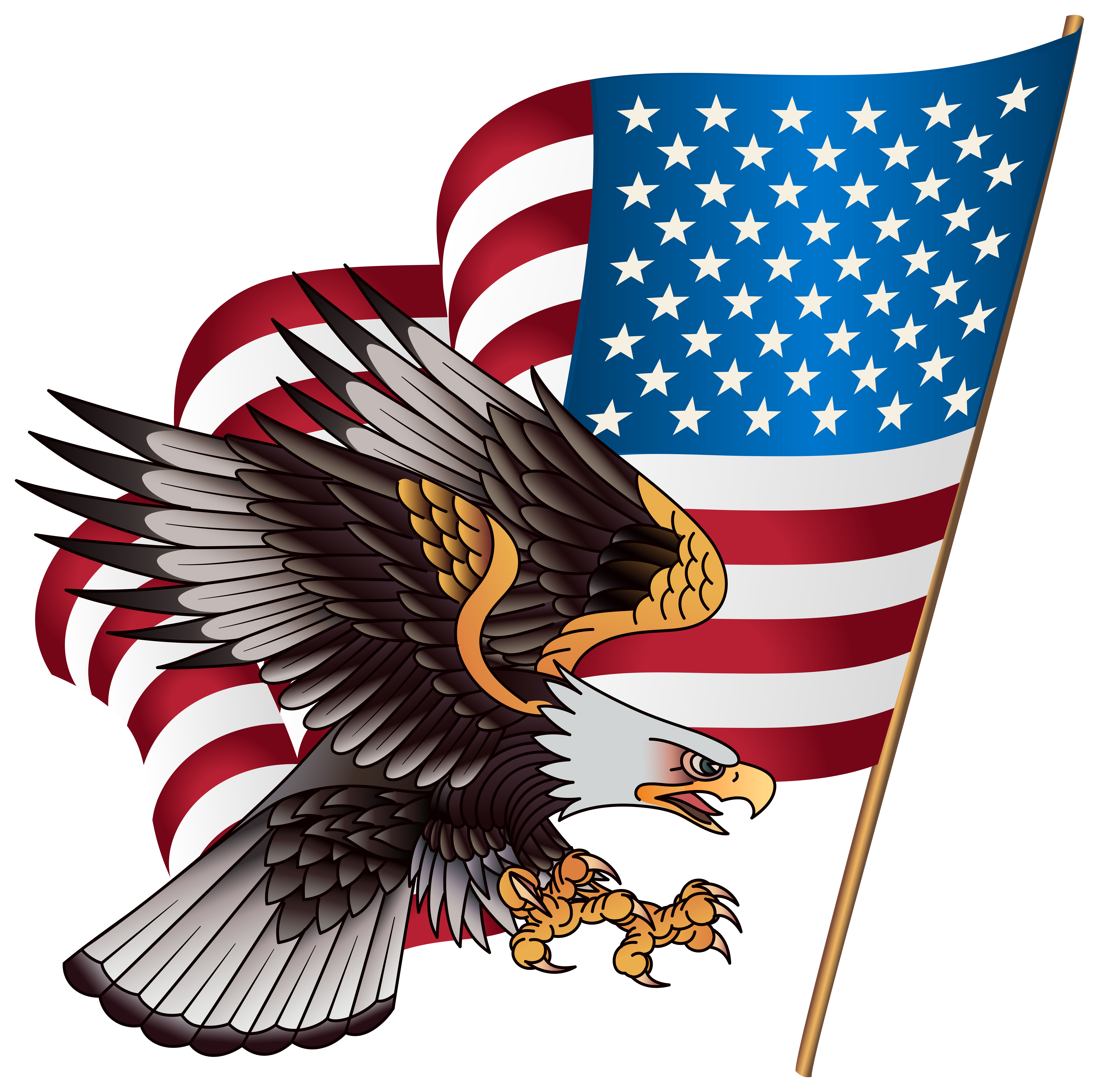 4th of july eagle clipart picture stock American Eagle Transparent PNG Clip Art Image | Gallery ... picture stock