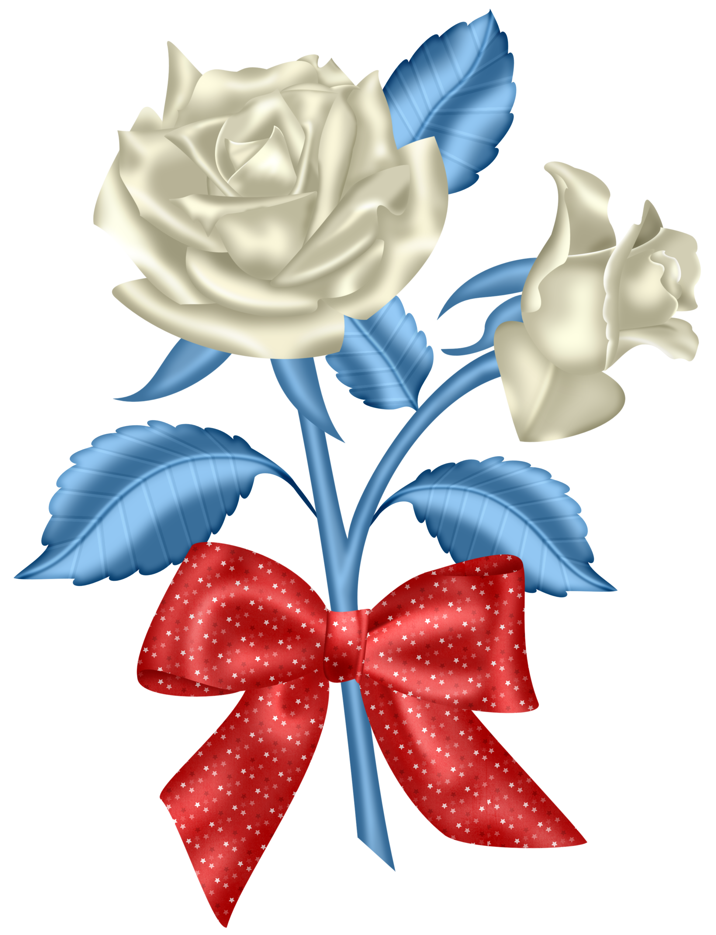 July flower clipart png royalty free library Red White & Blue | Whimsical [1] | Flowers, Garden, Rose png royalty free library