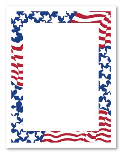 4th of july frame clipart jpg transparent Forth Of July Border | Free download best Forth Of July Border on ... jpg transparent