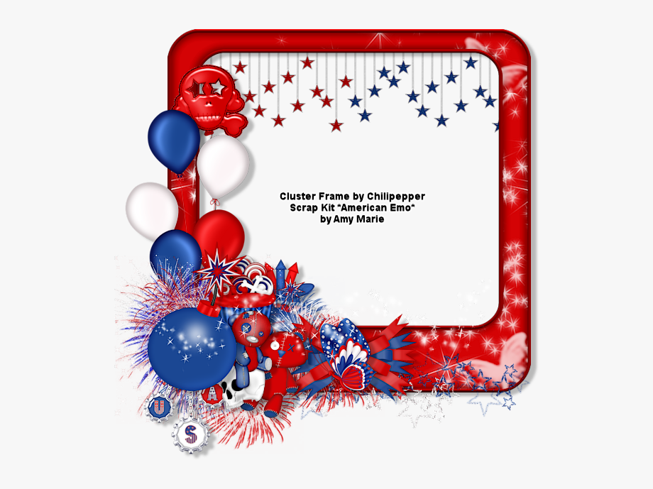 4th of july frame clipart clip art royalty free Free 4th Of July Png - 4th Of July Frame Png , Transparent Cartoon ... clip art royalty free
