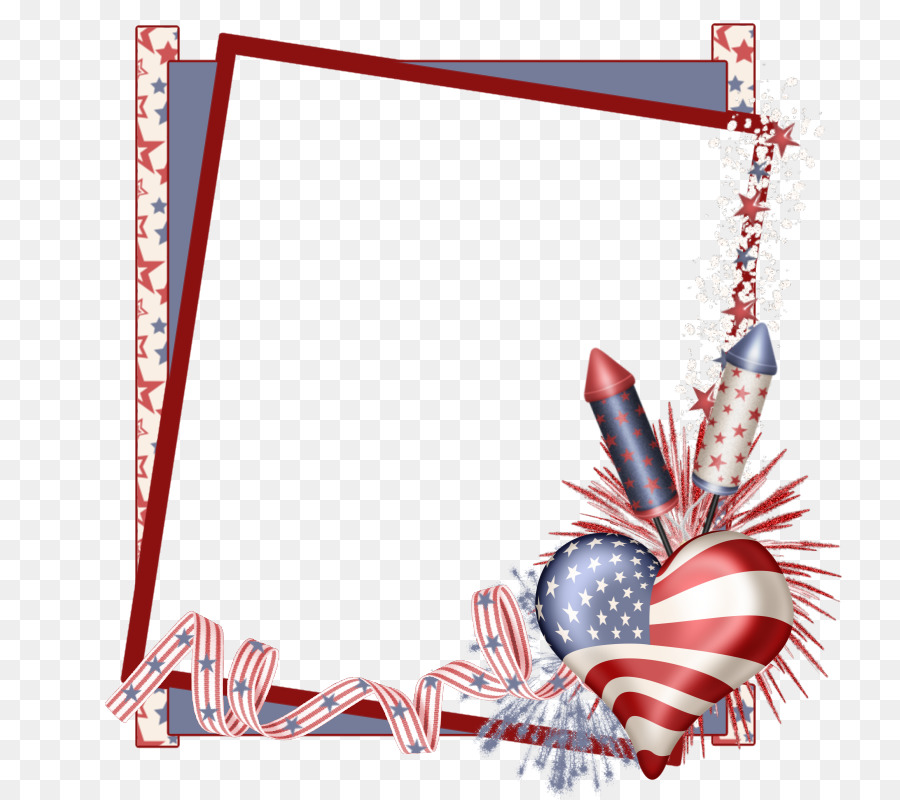 4th of july frame clipart image black and white stock Fourth Of July Background png download - 800*800 - Free Transparent ... image black and white stock