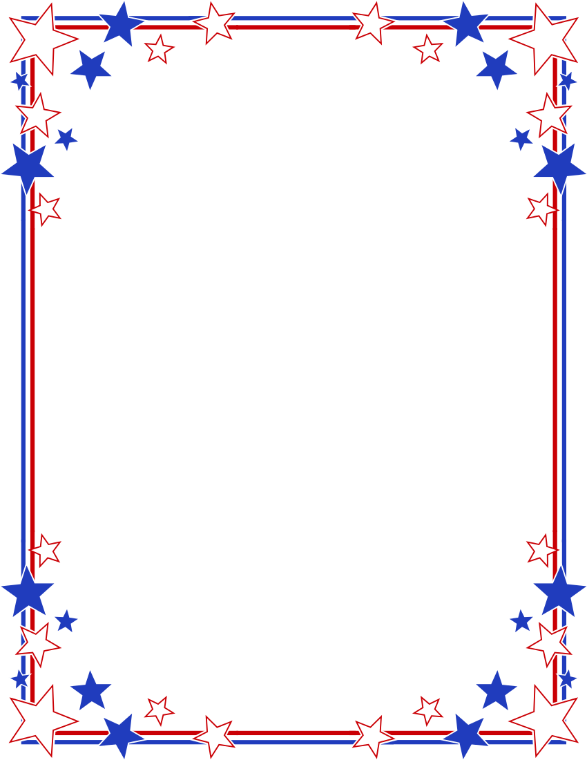 4th of july frame clipart vector stock Fourth Of July Border | Free download best Fourth Of July Border on ... vector stock