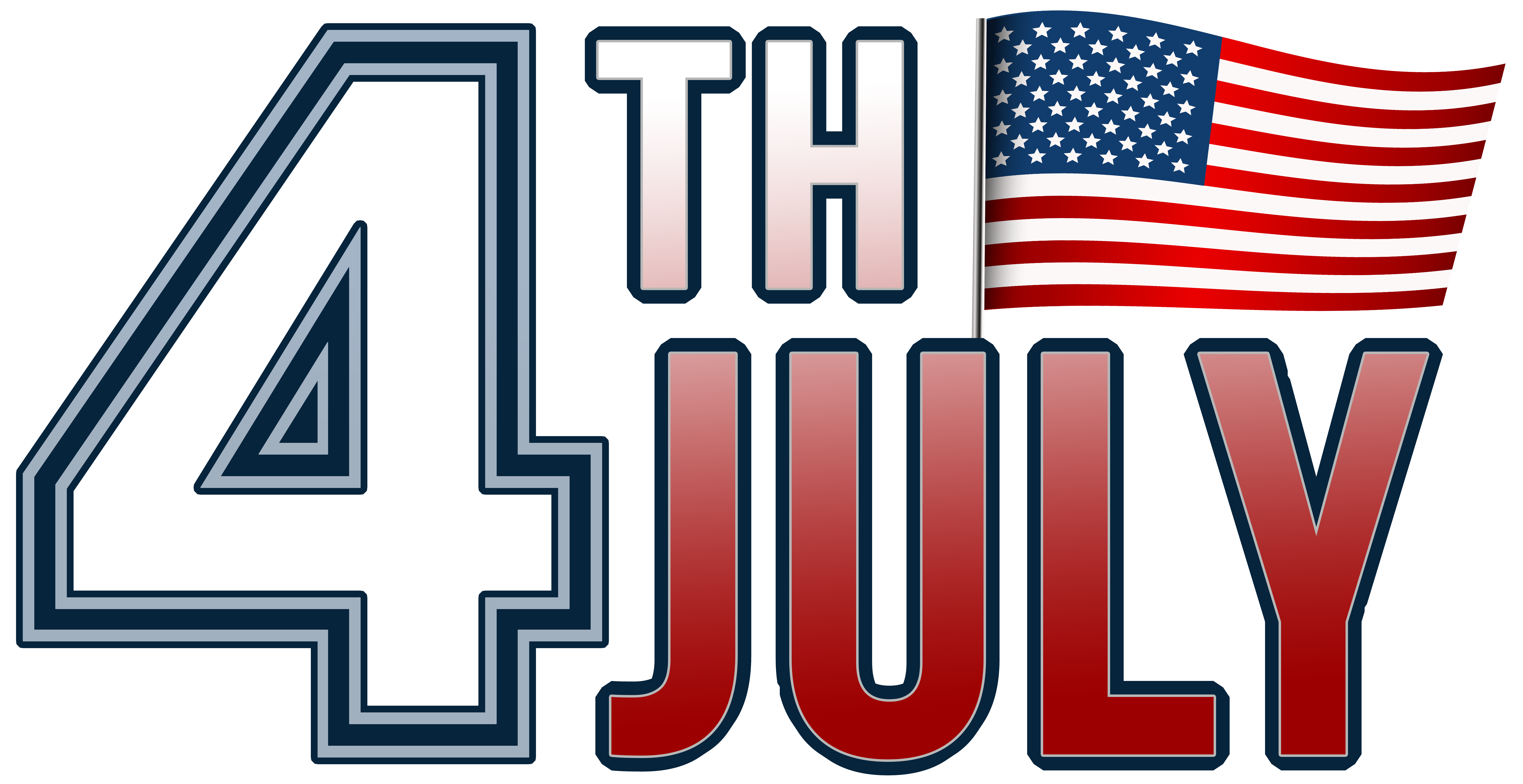 4th of july free clipart 400 x 150 graphic freeuse stock 4th Of July Clipart Transparent graphic freeuse stock