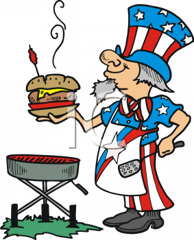 4th of july grill clipart banner royalty free download fourth of july clip art | Home > Clipart > Patriotic > 4th of July ... banner royalty free download