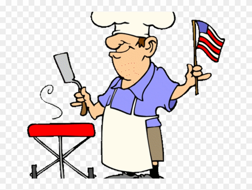 4th of july grill clipart graphic black and white 00 Pm To - 4th Of July Bbq Clipart - Png Download (#1709746 ... graphic black and white