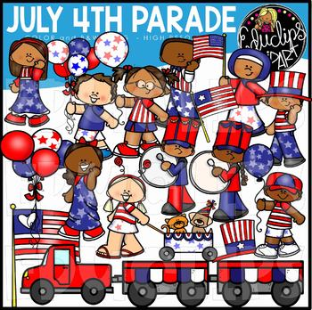 4th of july parade clipart jpg transparent download July 4th Parade Clip Art Set {Educlips Clipart} by Educlips | TpT jpg transparent download