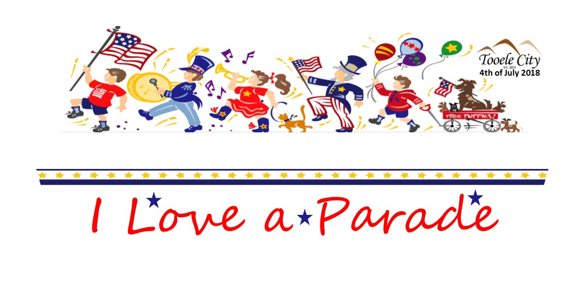 4th of july parade clipart image black and white stock 4th of July Parade 2018 | Tooele City image black and white stock