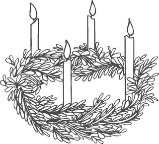 Free clipart advent candles graphic royalty free library Free Advent Wreath Cliparts, Download Free Clip Art, Free Clip Art ... graphic royalty free library